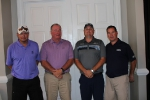 1st Place Team Carr Supply (Rod Essig, Bill Flynn, Jared Dean, Phil Favret)