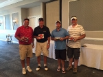 Golf Outing 2015 - 2nd Place Team